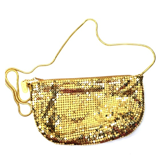 21f984b91c526e Lyrella Bags   Vintage Gold Metal Mesh Purse Handbag   Poshmark
